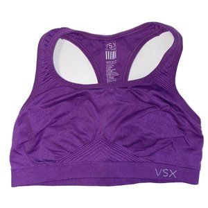 VSX VICTORIAS SECRET SEXY SPORT Purple Sports Bra